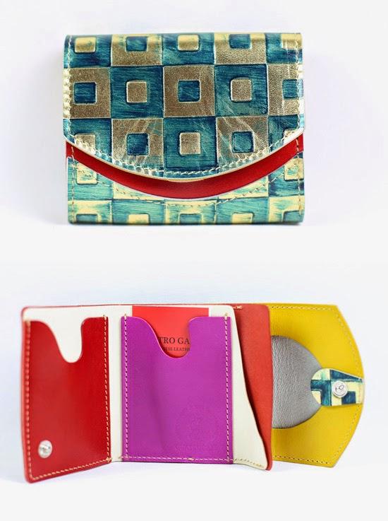 小さい財布オルメカ