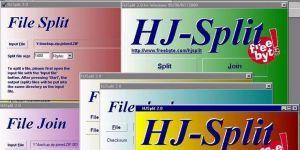 HJSplit Dosya Bölme Programı indir