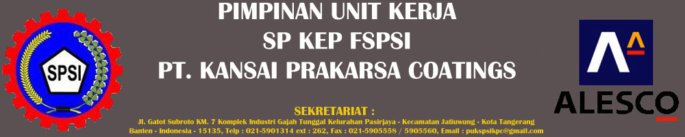 PUK SP KEP SPSI PT. KANSAI PRAKARSA COATINGS
