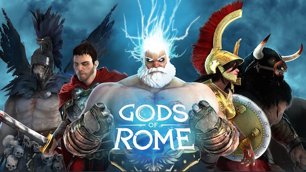 2. God of Rome free download android game