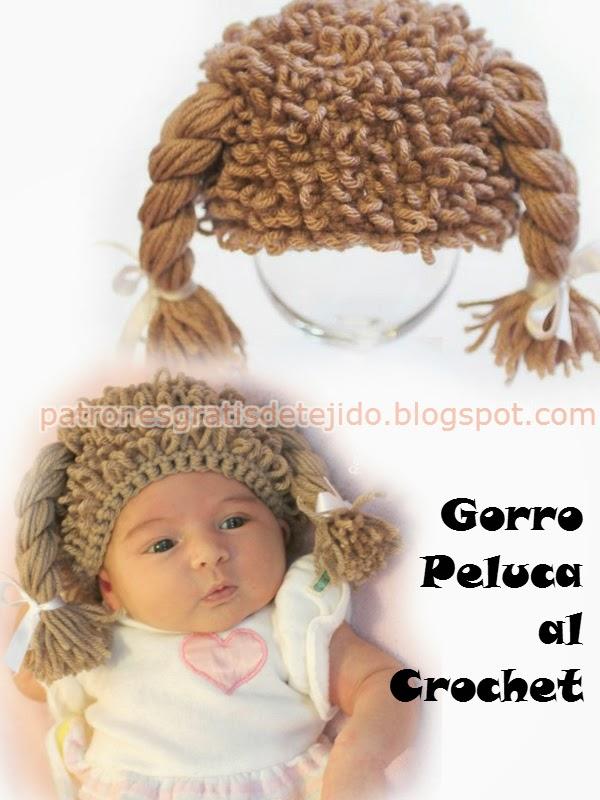 """Cómo tejer gorro """"peluca"""" para niños paso a paso - Video y fotos ..."""