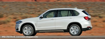 Couverture facebook BMW X5 2014