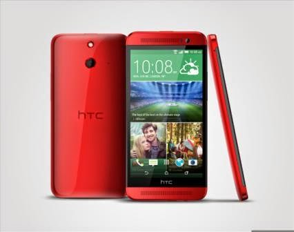 HTC One E8 red