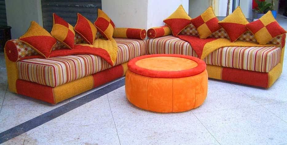 Fantastique artisanat salon marocain 2014 style moderne for Salon artisanat