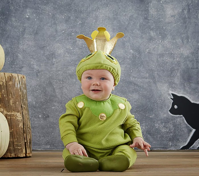 pottery barn frog prince halloween costume