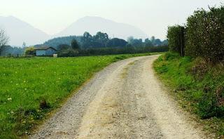 De Llanes a Celorio, tramo camino de Santiago