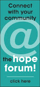 JOIN THE HOPE TO COPE FORUM!!
