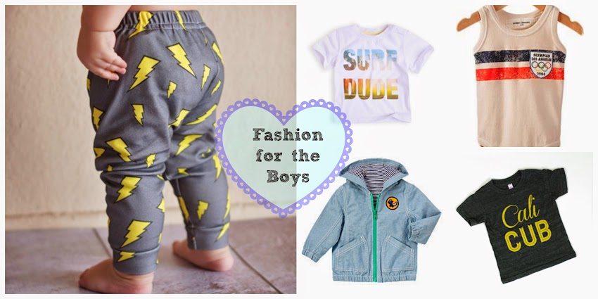 Shopping for baby boy
