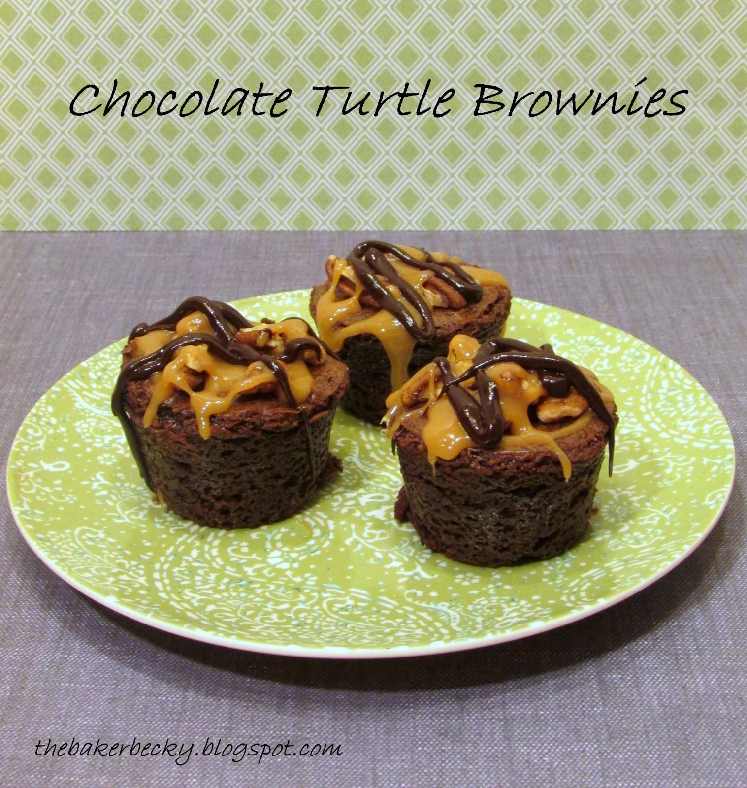 Baker Becky: Chocolate Turtle Brownies