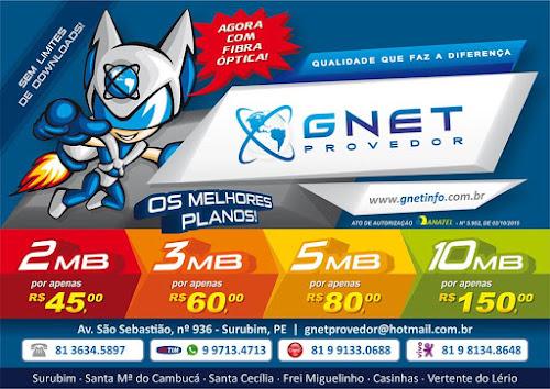 Promoção relâmpago - GNET Provedor - Internet em Casa - Surubim-PE | Santa Maria do Cambucá-PE | Santa Cecília-PB | Casinhas-PE | Vertente do Lério-PE