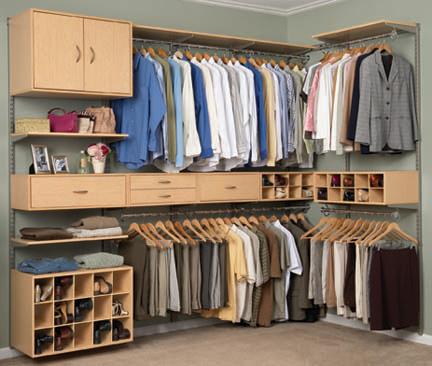 Modernos closets para ni os y jovenes decorando mejor - Armarios para espacios pequenos ...