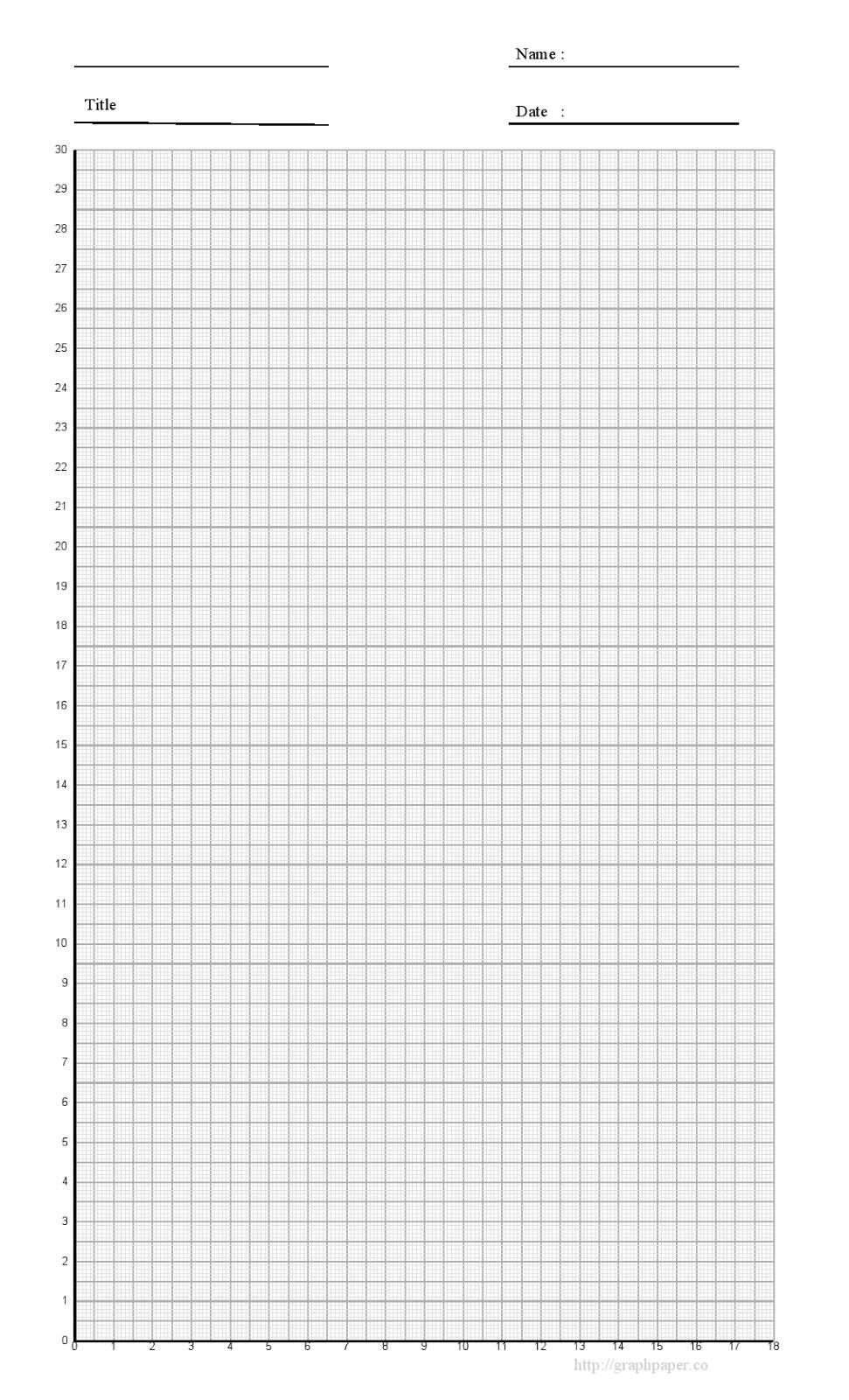 Graph Paper Printa...