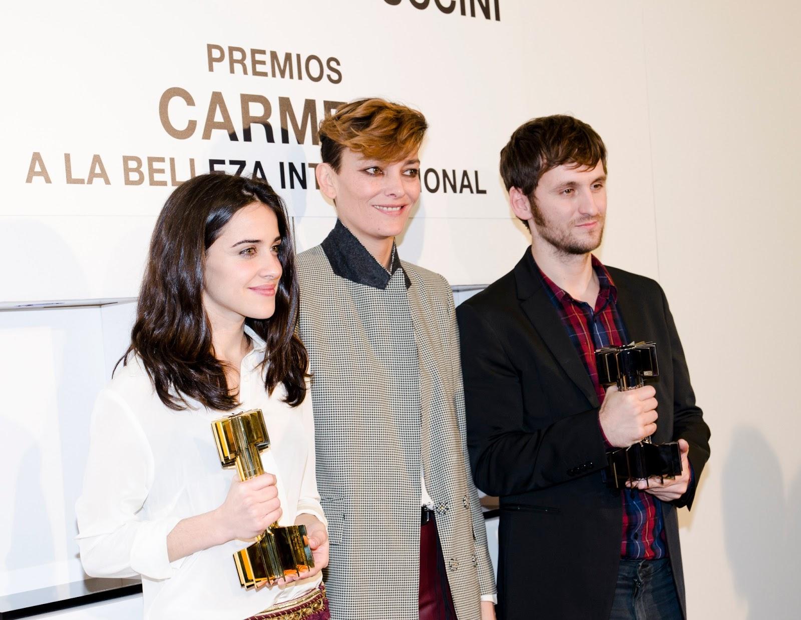 Germaine de Capuccini y las Bellezas más Internacionales del Cine Español, y las Estatuillas de Laura Ponte