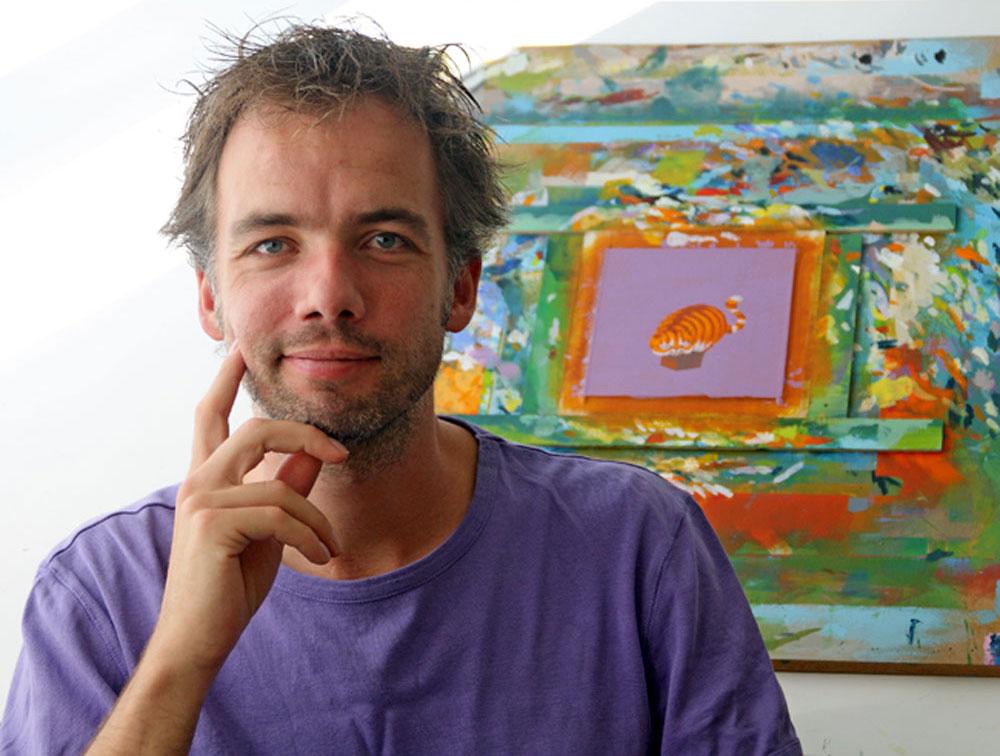 Jasper Oostland, pintor de ranas