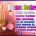 BUENAS NOCHES - Hermosas tarjetas y postales con mensajes y frases para dormir bien
