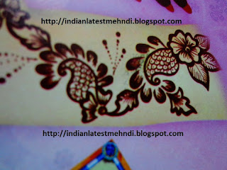latest easy mehndi designs 2013 5