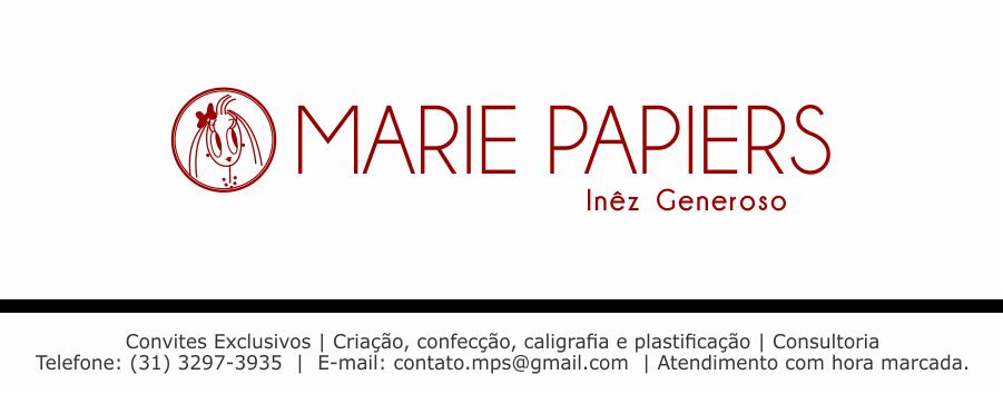 Marie Papiers  |  Convites Exclusivos