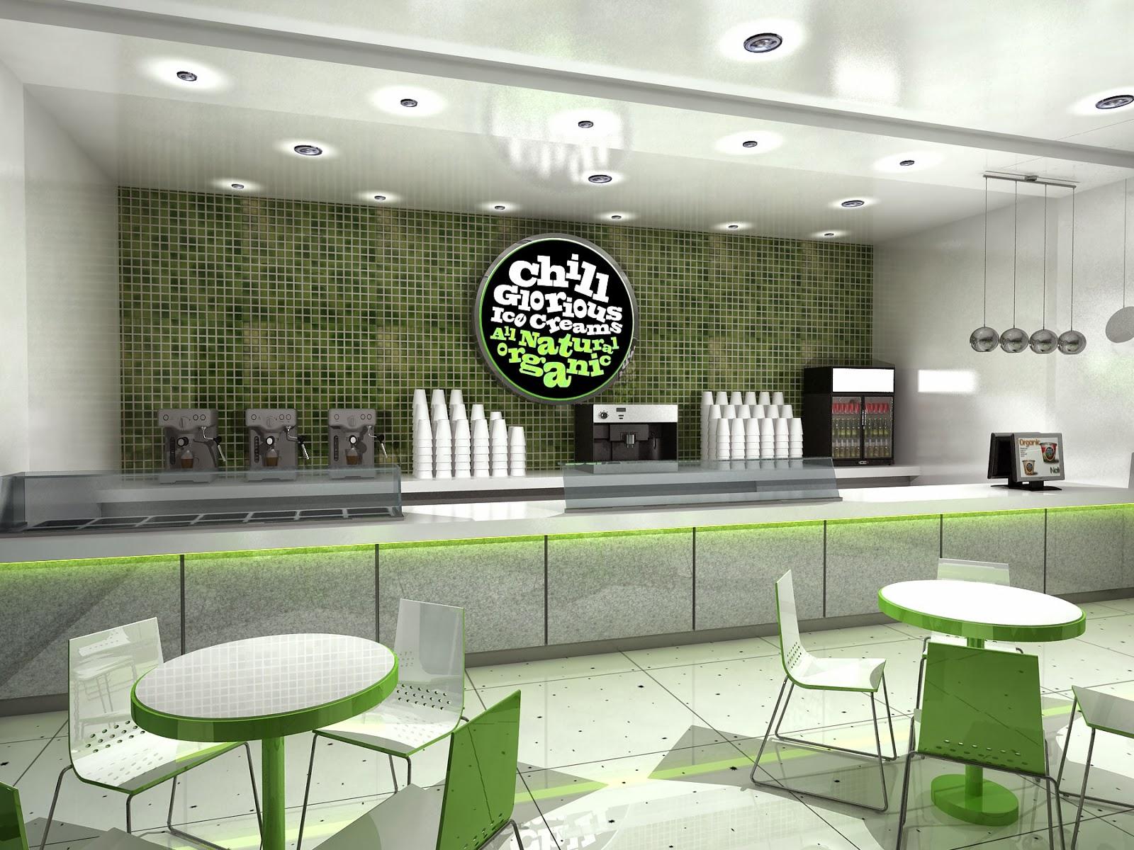 Gurooji Design Chill Ice Cream Shop Design