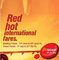 Buy Spicejet Red Hot Fares Starts Rs. 1899 only