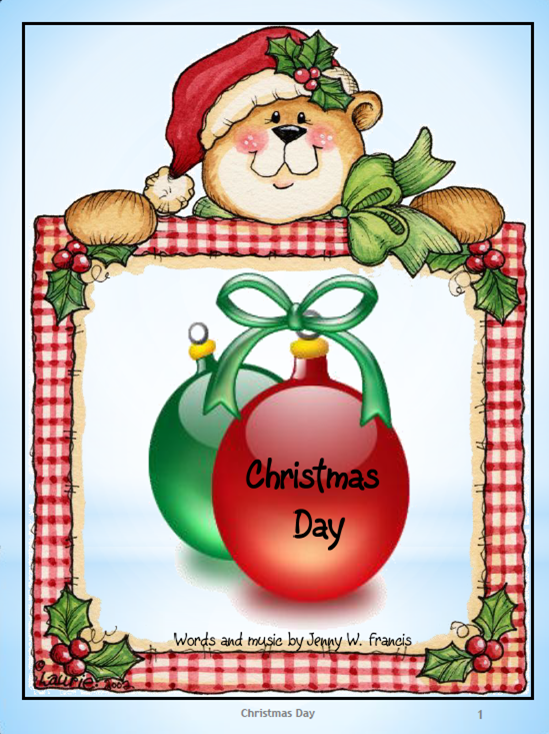 Didi @ Relief Society: Christmas Day - Flip Chart