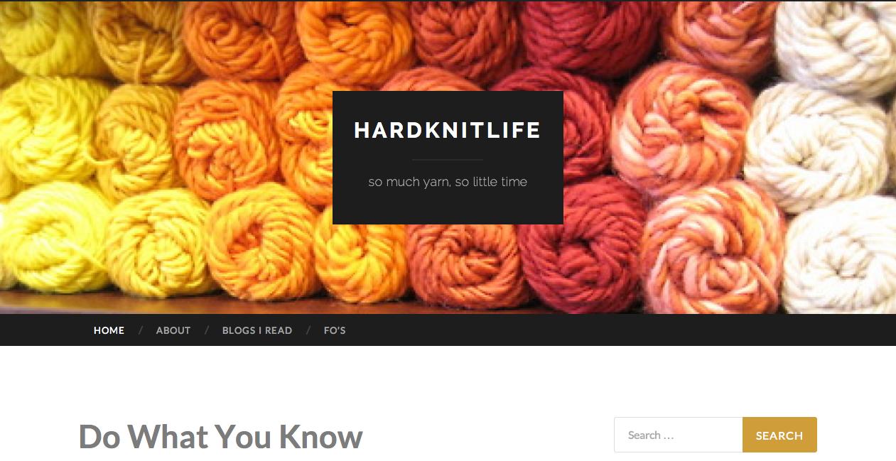 Hardknitlife