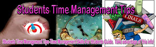 Students Time Management Tips-Time Management Skills For Students Guide.  Take advantage of this info!