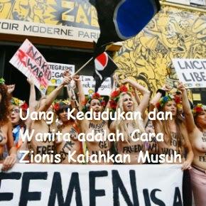 Uang, Kedudukan dan Wanita adalah Cara Zionis Kalahkan Musuh