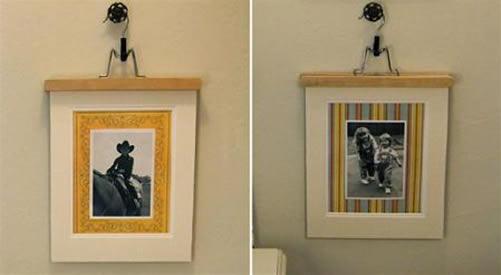 Manualidades recicladas decoraci n de la casa reciclando - Perchas pared originales ...