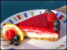 Raw Vegan Raspberry Lemon Cheesecake