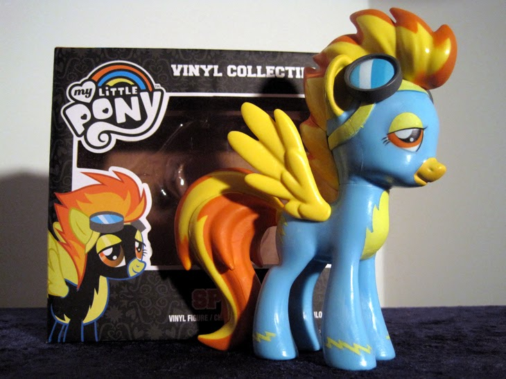 Funko Collectible My Little Pony: Friendship is Magic Spitfire figure with box.