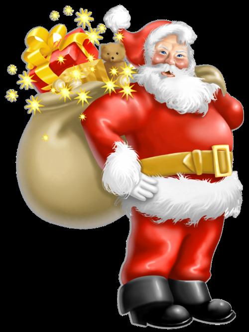 Christmas Tree Toppers Santa