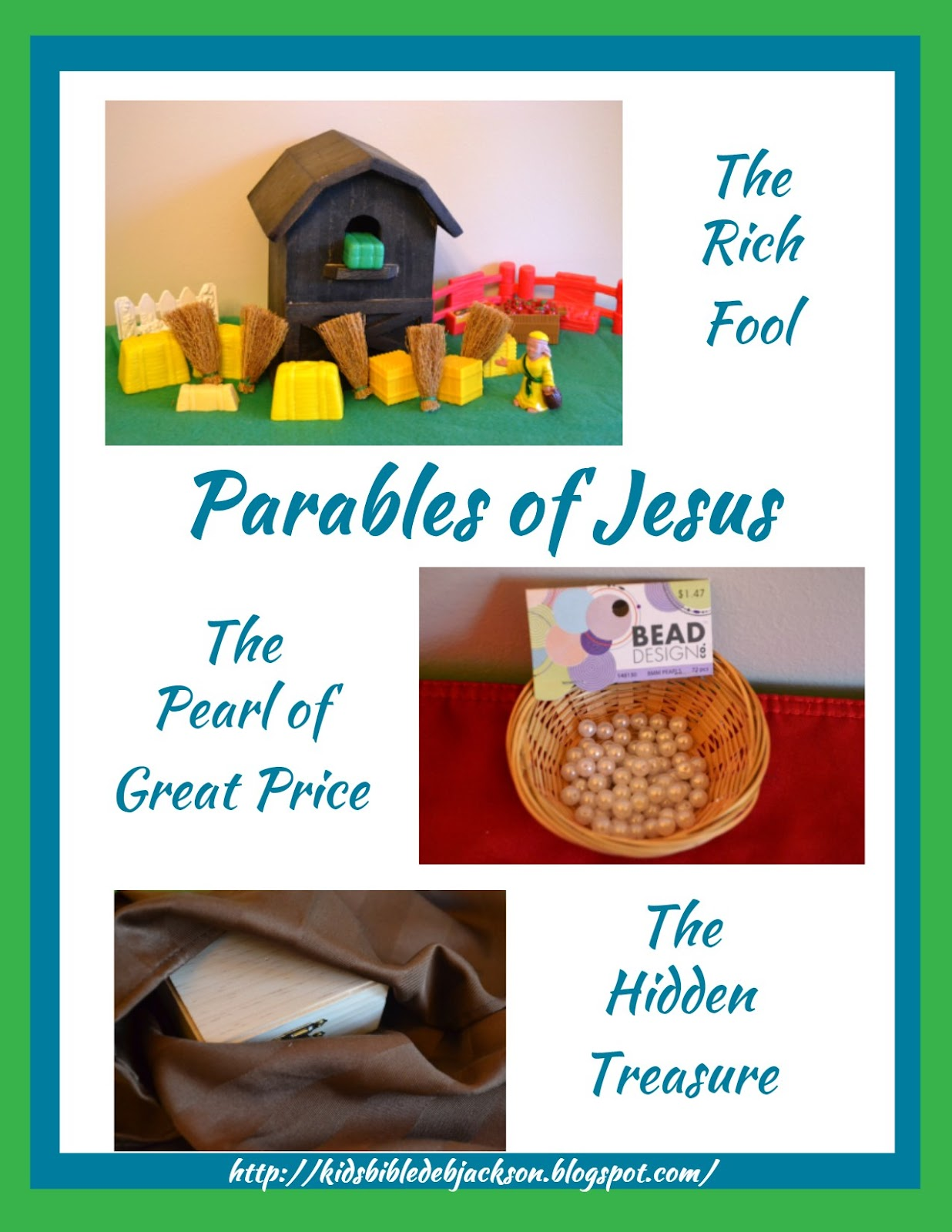 parable of the rich fool the hidden treasure the pearl of great price