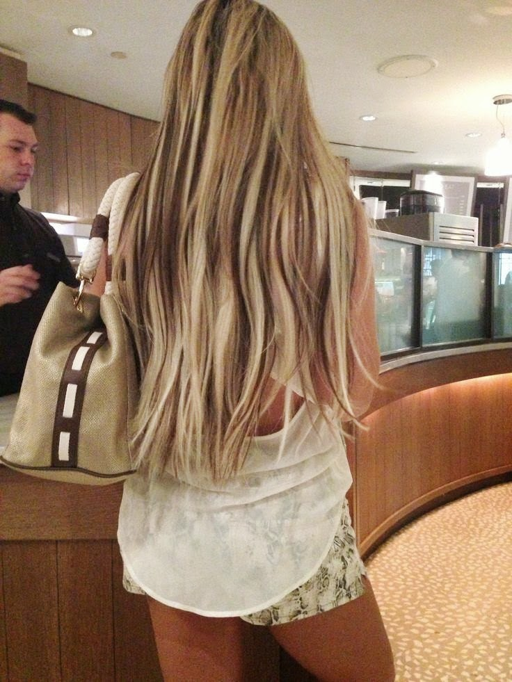 Blonde Hair With Brown Extensions Best Image Of Blonde Hair 2018