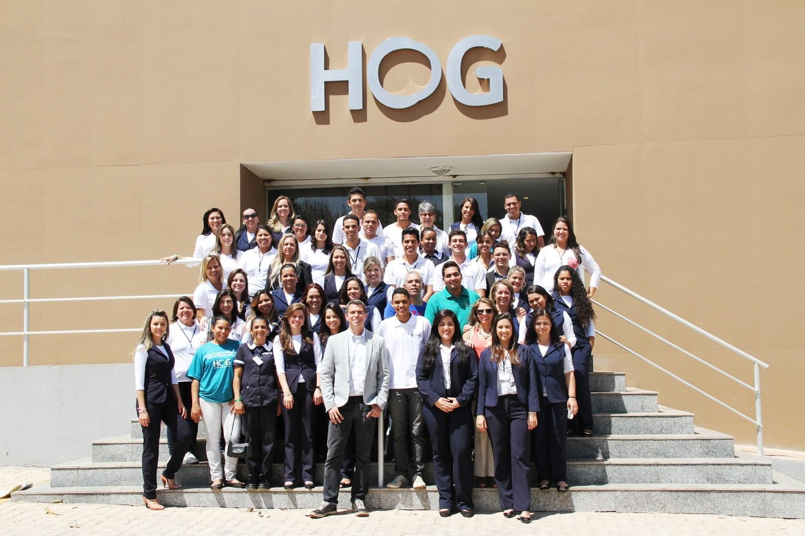 ff75ee7676994 Colaboradores do grupo INOB estiveram no HOG (Hospital de Olhos do Gama)  para conhecer as instalações do novo hospital. Na ocasião, foram recebidos  com um ...
