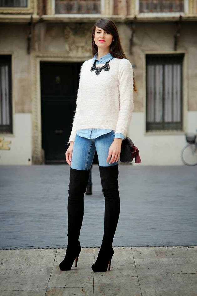 look casual botas altas