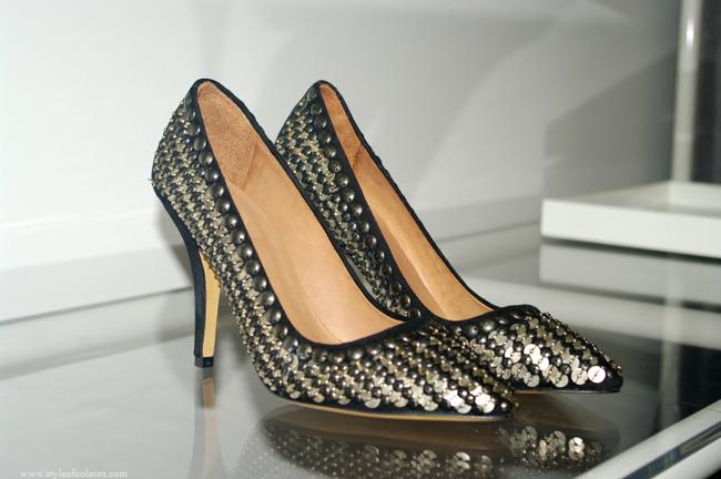 H&M Isabel Marant Studded Heels