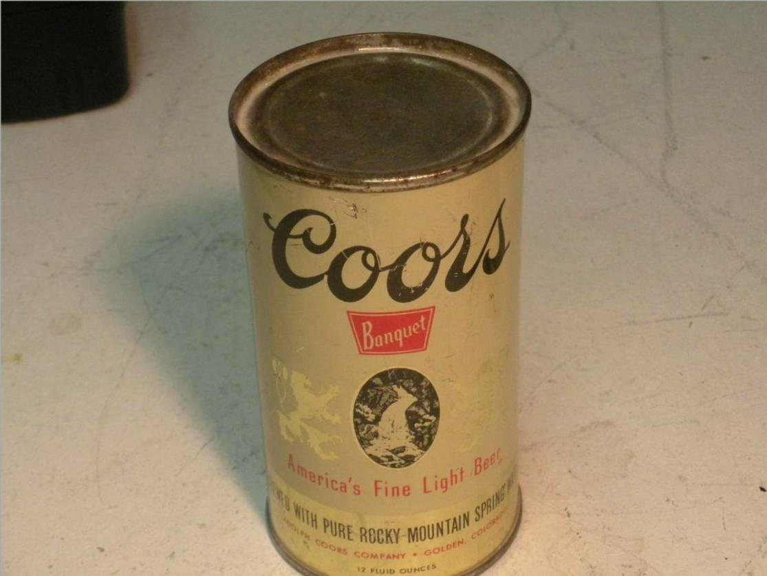 Everything Awesome: Coors Original - Pull tab or can ...