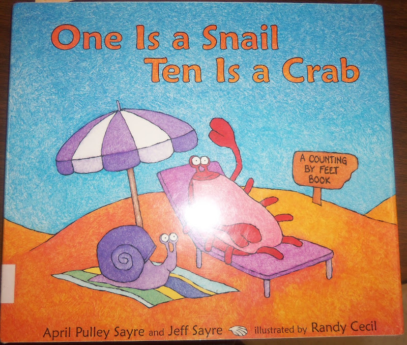 Mrs. Wood\'s Kindergarten Class: One Is Snail Ten is Crab Math