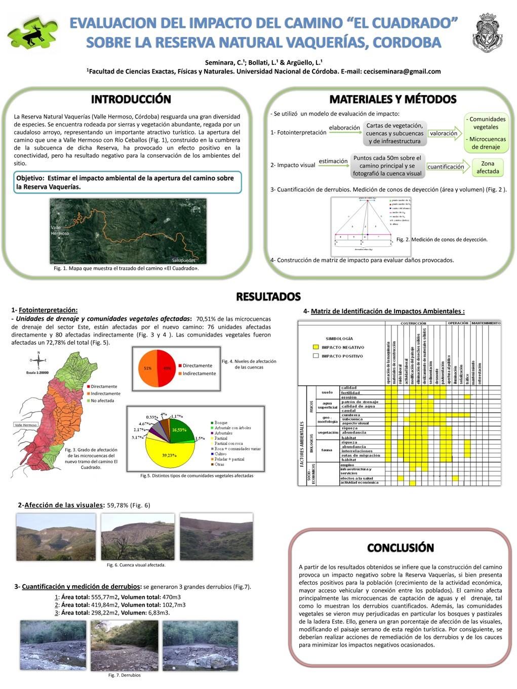 Programa Sustentabilidad Ambiental: Póster de equipo de la UNC ...