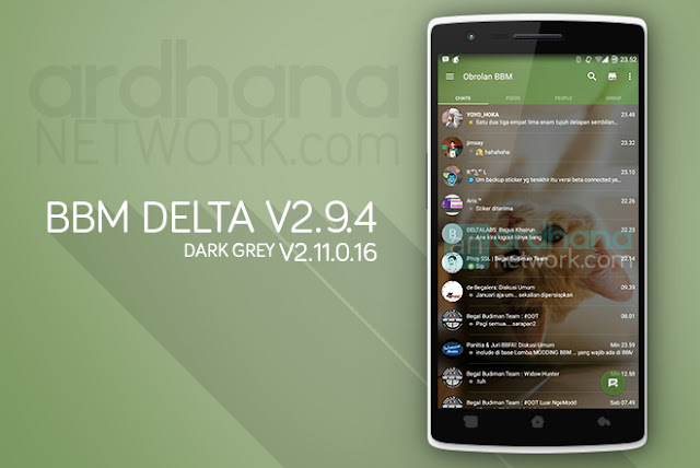 BBM Delta V2.9.4 - BBM Android V2.11.0.16