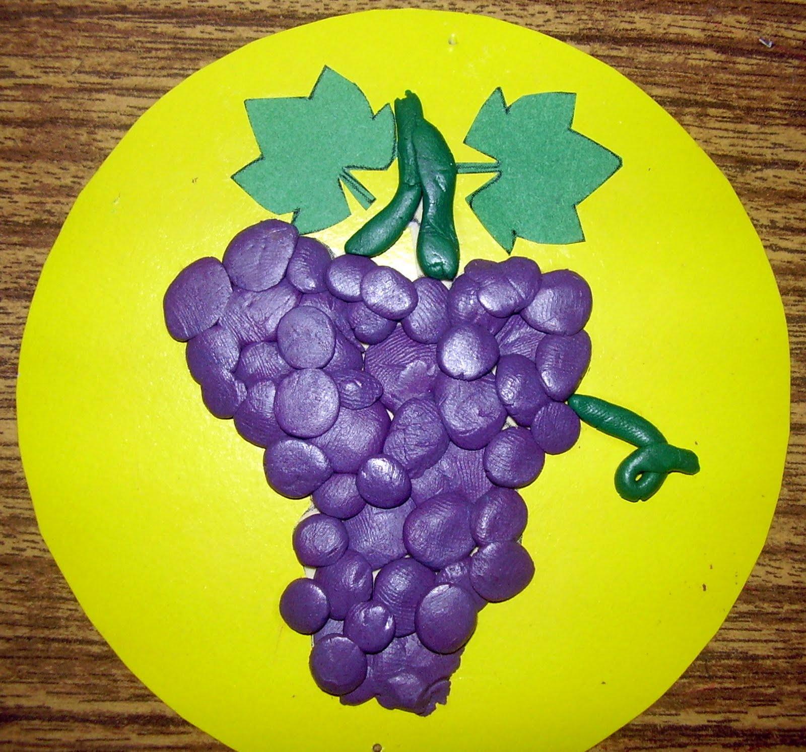 Поделки для детей из винограда 180