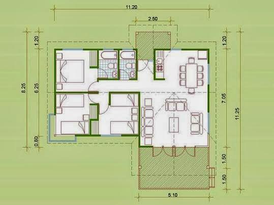 Planos Casas Modernas Planos De Casas De Inter S Social