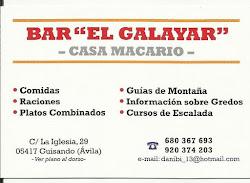 "Bar ""El Galayar"""