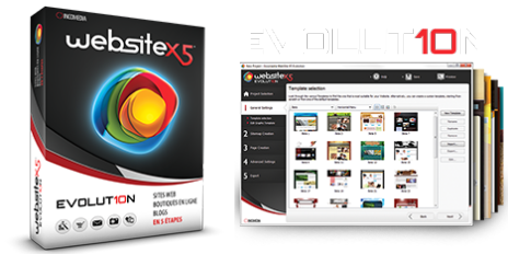 برنامج Website X5 Evolution 10.0.8.35