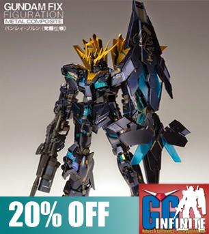 Gundam Fix Metal Composite RX-0 Unicorn Gundam 02 Banshee Norn