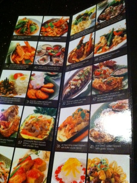 Amarin Thai Cuisine Menu Of Dreamer Amarin Heavenly Thai Mid Valley