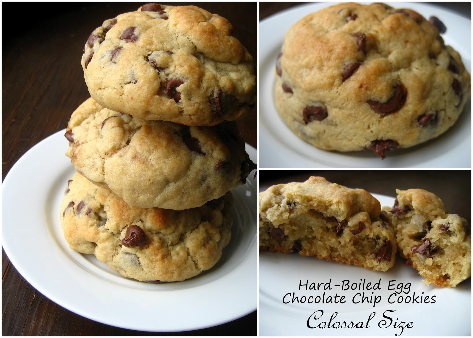 Home Cooking In Montana: Hard Boiled Egg Chocolate Chip Cookies ...
