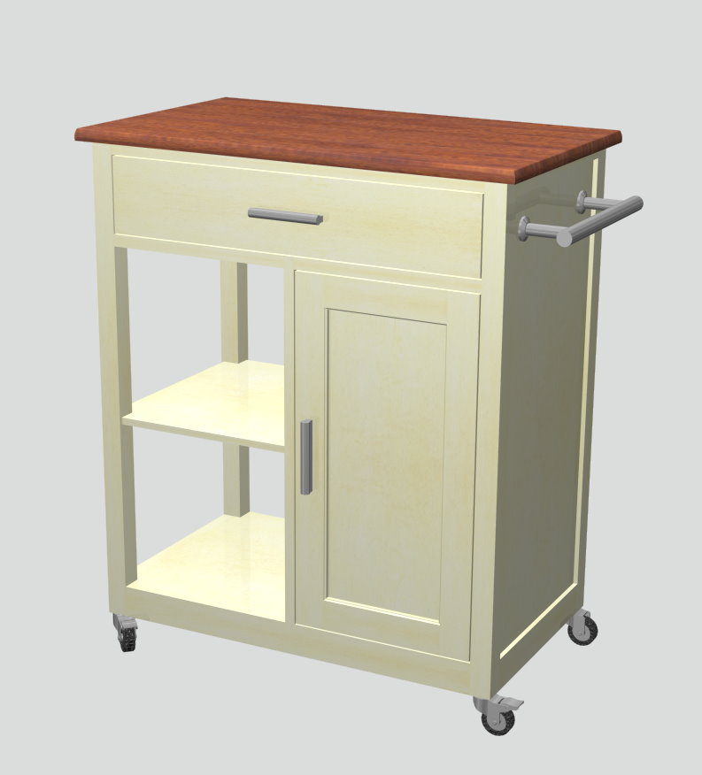 F One 39 S Dining Kitchen Cart Server
