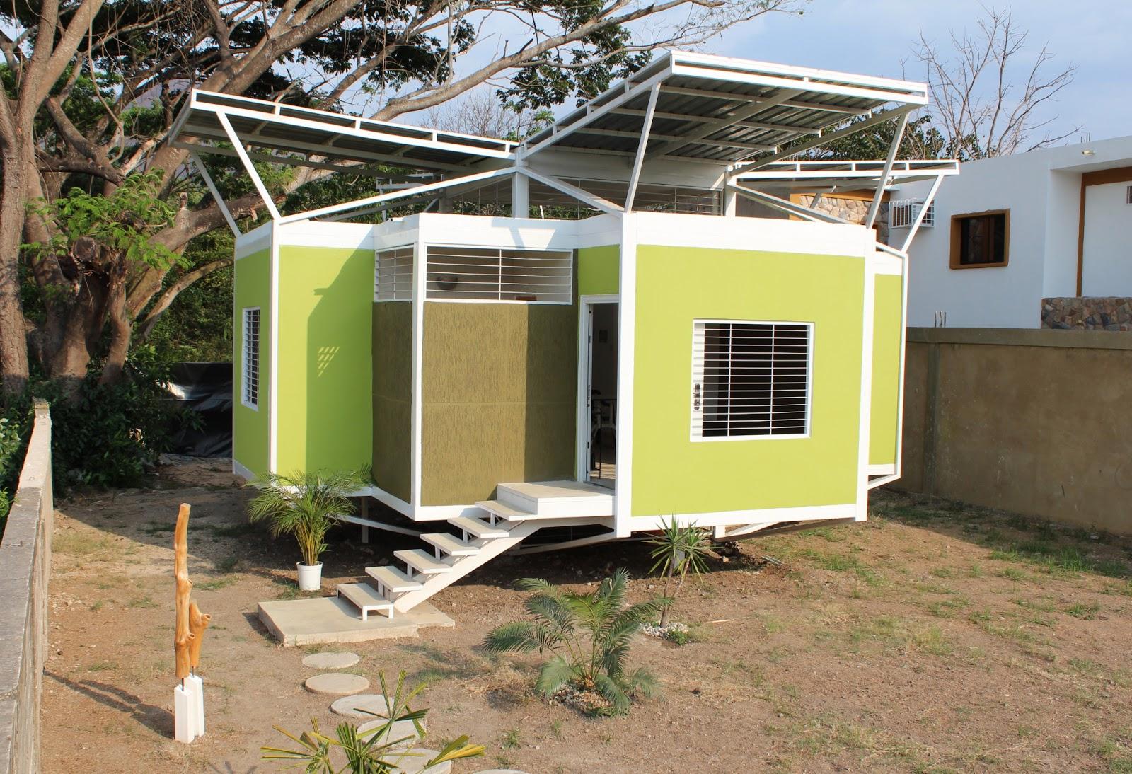hay que ser irresponsable: metal-casa, vivienda ecológica en venezuela