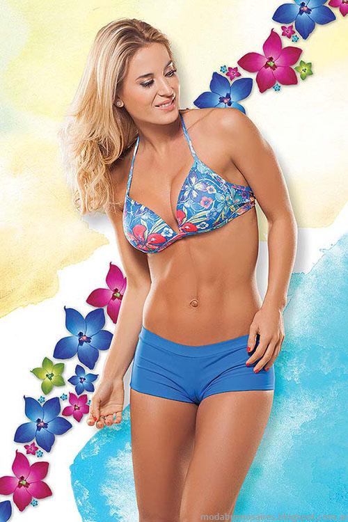 Bikinis con mini short 2015 Cocot.
